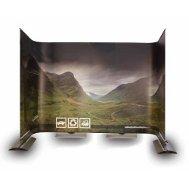 Ścianka wystawiennicza elastyczna jednostronna Twist Banner  5x2,1m (7 elementów)