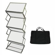 Stojak na ulotki lub foldery typu Zyg Zag A3x6 z pokrowcem