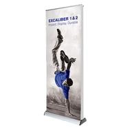 Roll up dwustronny Excaliber (dożywotnia gwarancja)