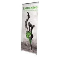 L-banner wewn?trzny jednostronny Lightning