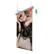 Roll up jednostronny elektrycznie przewijany wiszący