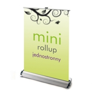 Roll up jednostronny mini nabiurkowy