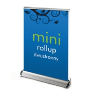 Roll up dwustronny mini nabiurkowy